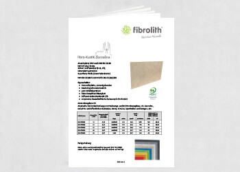 Produktdatenblatt Fibro-Kustik Barcelona
