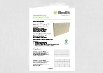 Vearbeitungsrichtlinien Fibro-THERM-S 3 N zur nachträglichen Befestigung