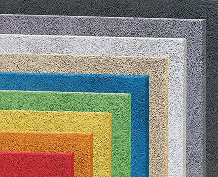 fibrolith akustikprodukte aus Holzwolle