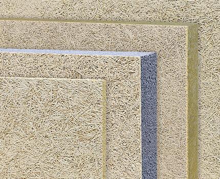 fibrolith dämmprodukte aus Holzwolle