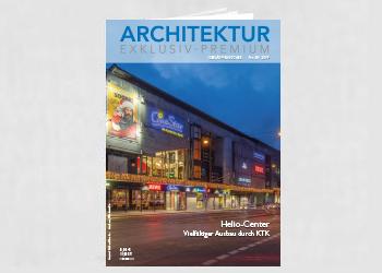 Produktmeldung PURE GENIUS™ Akustikplatten mit raumluftreinigender Wirkung in Architektur exklusiv 3/4 2019