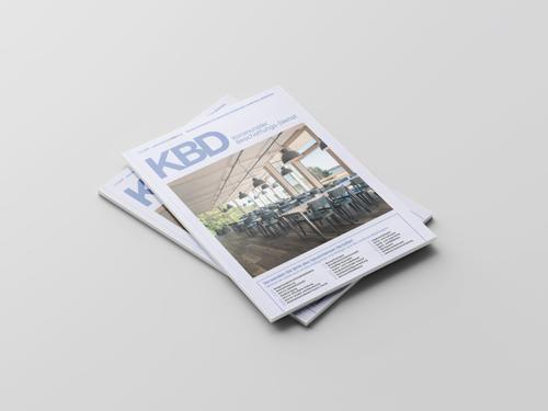 Produktmeldung PURE GENIUS™ Akustikplatten mit raumluftreinigender Wirkung in KBD 01/19