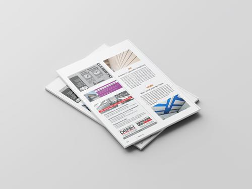 Objektbericht Deckensegel in einer Mitarbeiterkantine bei der Hänssler Hydraulik GmbH in Mikado 11/15