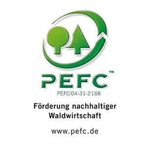PEFC Siegel für Fibrolith
