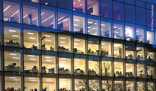 Fibrolith Akustikplatten in Büros und Verwaltungsbauten
